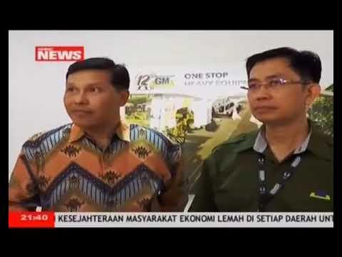 PT. Gaya Makmur Tractors in Indonesia Mining Expo 2017