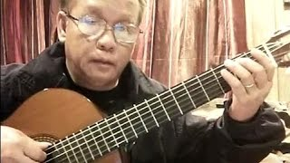 Giã Từ Đêm Mưa (Văn Phụng) - Guitar Cover by Bao Hoang