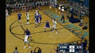 College Hoops 2K6   UConn @ Villanova