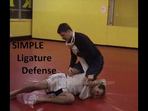 A Dead Simple defense against a Strangle Cord / Ligature attack