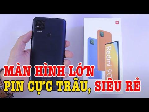 Mở hộp Redmi 9C : ĐIỆN THOẠI màn hình lớn CỰC RẺ của Xiaomi