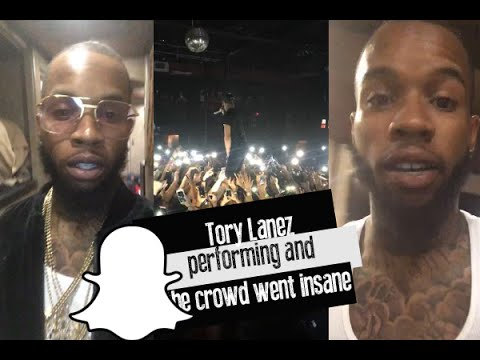 what is tory lanez snapchat