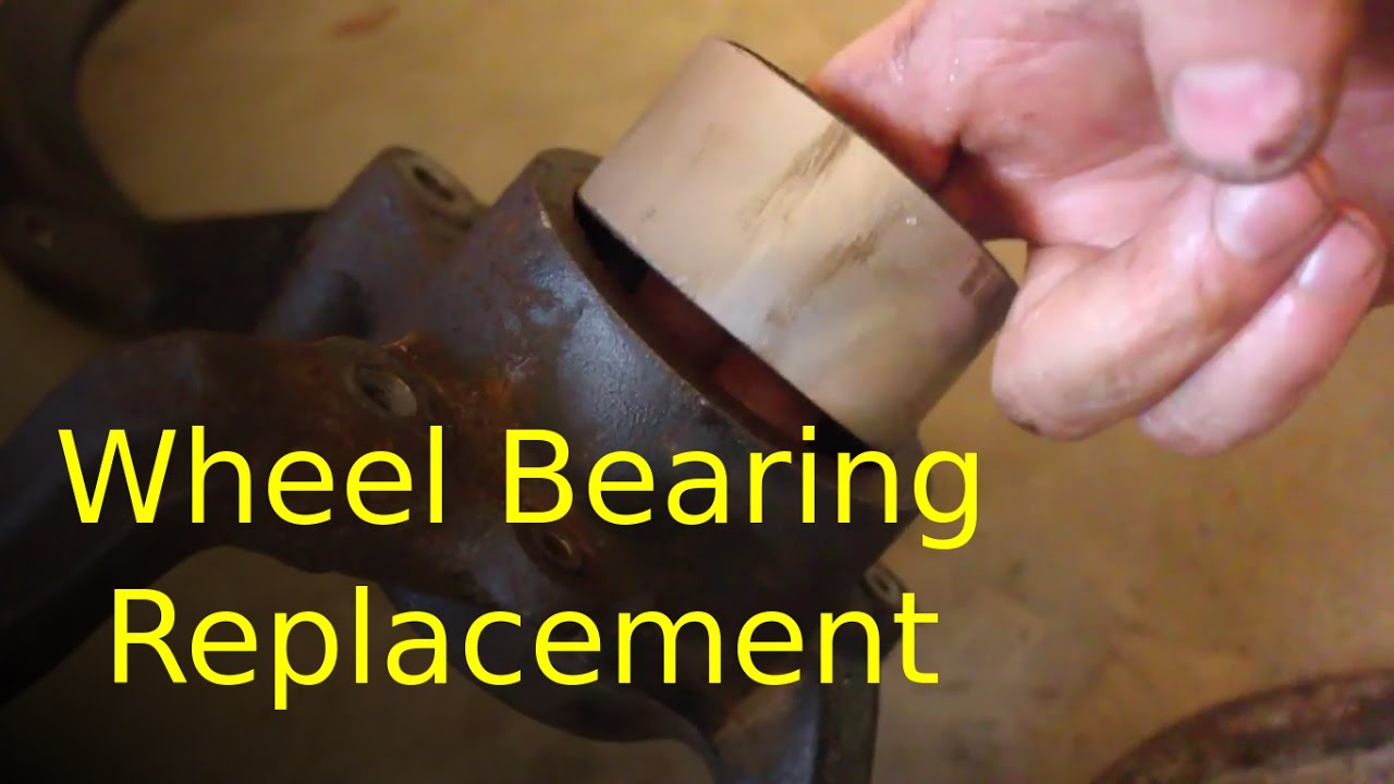 Best Way To Replace Wheel Bearing On Volkswagen Audi Youtube