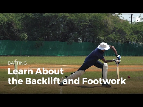 Learn the Backlift and Footwork | Cricket