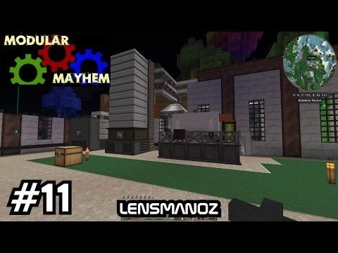 Minecraft - Modular Mayhem - Ep 11 - Oil & Plastic