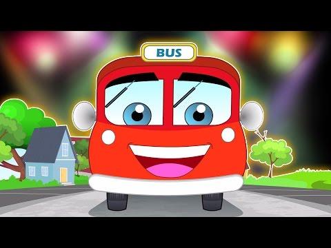 Die Räder vom Bus | Kinderlieder | Wheels on the Bus Go Round and Round