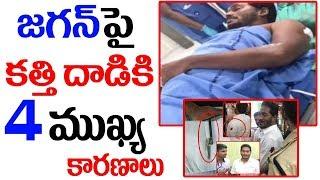 జగన్ పై కత్తి దాడికి 4 ముఖ్య కారణాలు || YS Jagan Injured in Attack at Vizag Airport || SumanTV