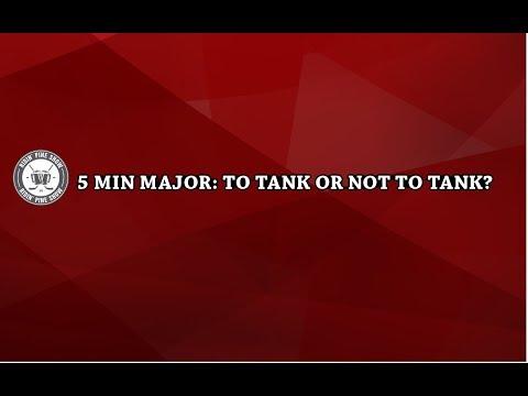 Tank or No Tank in NHL - 5 Min Major