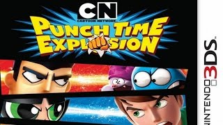 Cartoon Network Punch Time Explosion Gameplay {Nintendo 3DS} {60 FPS} {1080p}