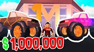 I BOUGHT THE $1,000,000 ROBLOX JAILBREAK MONSTER TRUCK!!