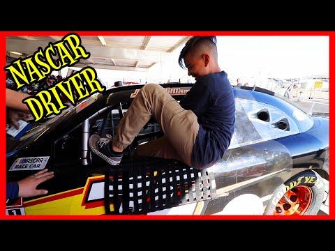 CRASHING A RACE CAR | NASCAR CRASH RACERS | D&D SQUAD