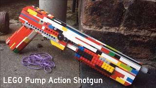 LEGO Pump-Action Shotgun - SAWN-OFF STYLE - S3E6A