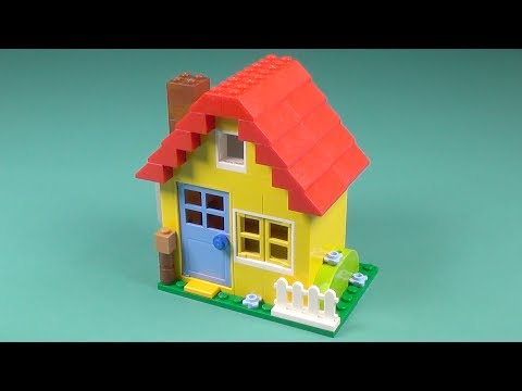 """Lego Yellow House Building Instructions - Lego Classic 10703 """"How To"""""""