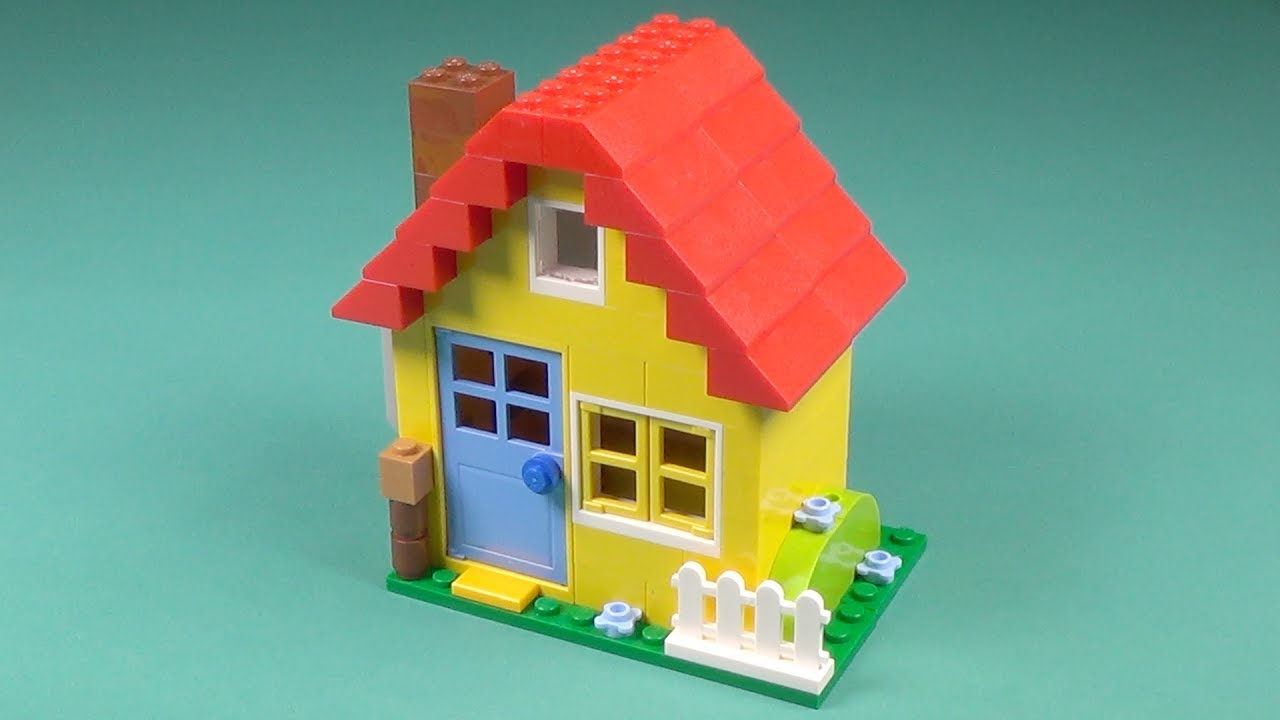 Lego Yellow House Building Instructions Lego Classic 10703 How To