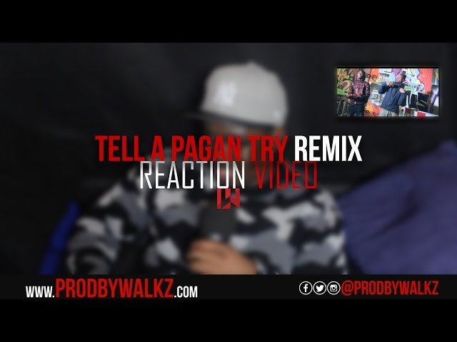 IQ X Ekeno - Tell A Pagan Try Remix (Music Video) Reaction Video @iquniverse @ekenoofficial