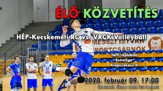 Gambar cover HÉP-KRC – VRCK Volleyball I férfi röplabda mérkőzés