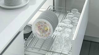 Выдвижные сушки в нижний модуль на кухне. Обзор и цены