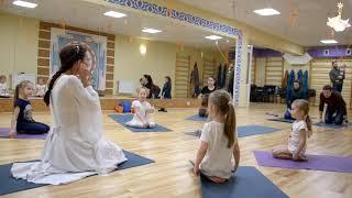 Праздничное занятие. Детская йога