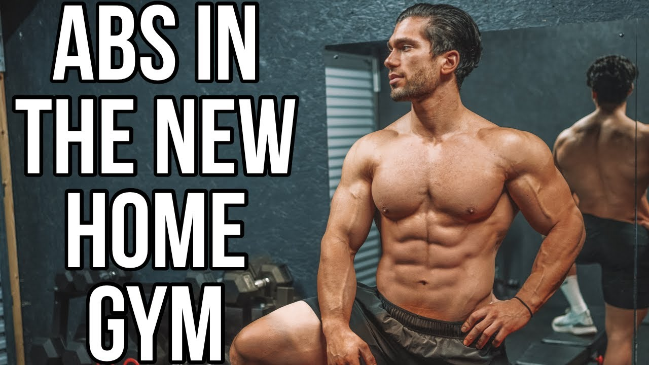 BODY WEIGHT ABS & CORE WORKOUT | Home Gym Update