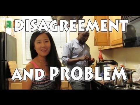 MARRIAGE DISAGREEMENT AND PROBLEM -  2016 vlog ep.6