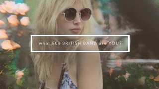 On Set with Staz Lindes: What 80s British Band are you?
