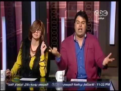 تقليد عمرو أديب و لميس الحديدي - SNL بالعربي
