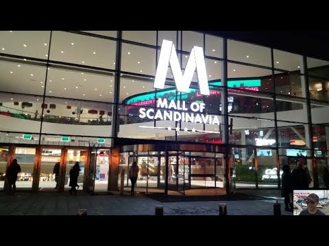 Mall of Scandinavia Stockholm Sweden
