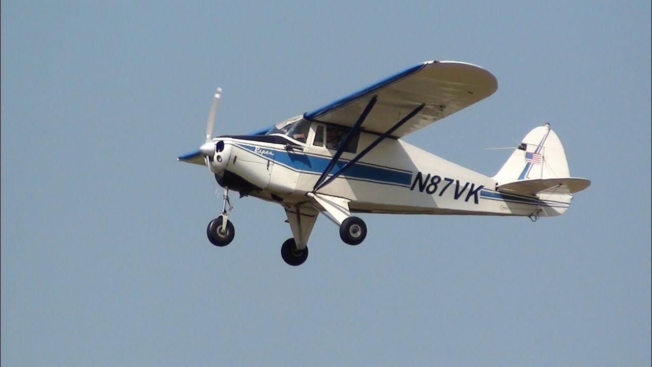 N87VK Piper PA-22-108 Colt Teuge Airport 2015