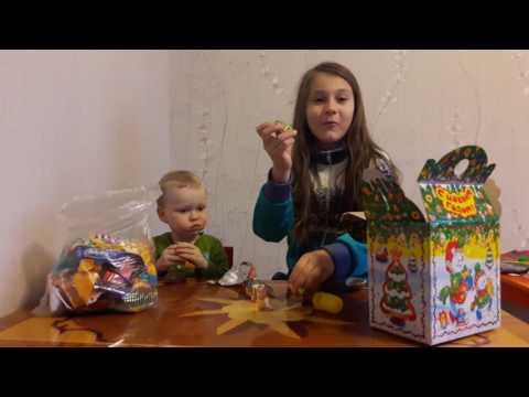 Челлендж новогодние подарки киндер сюрприз