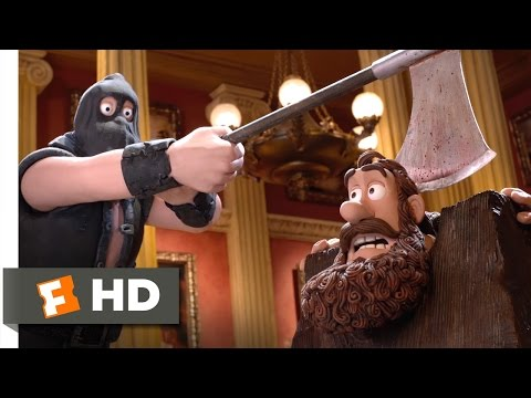 The Pirates! Band Of Misfits (5/10) Movie CLIP - He's A Pirate! (2012) HD
