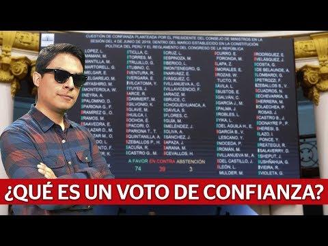 Voto de Confianza ¿Que pasó y qué pasará? | Curwen en La República