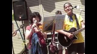 20140726ふなばし市民まつり 宮中おやじKIDS with ミネコ ・ロックンロ...