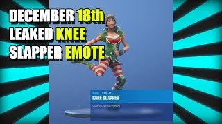 FUITE KNEE SLAPPER DANCE/EMOTE FORTNITE