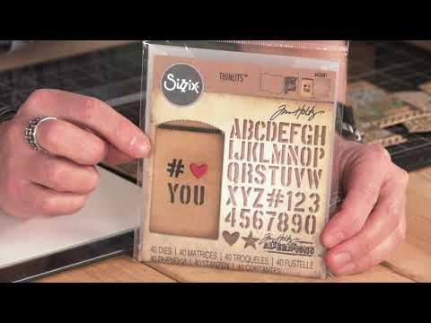 DID YOU KNOW? Sizzix DIY Gift Card Bag with Tim Holtz