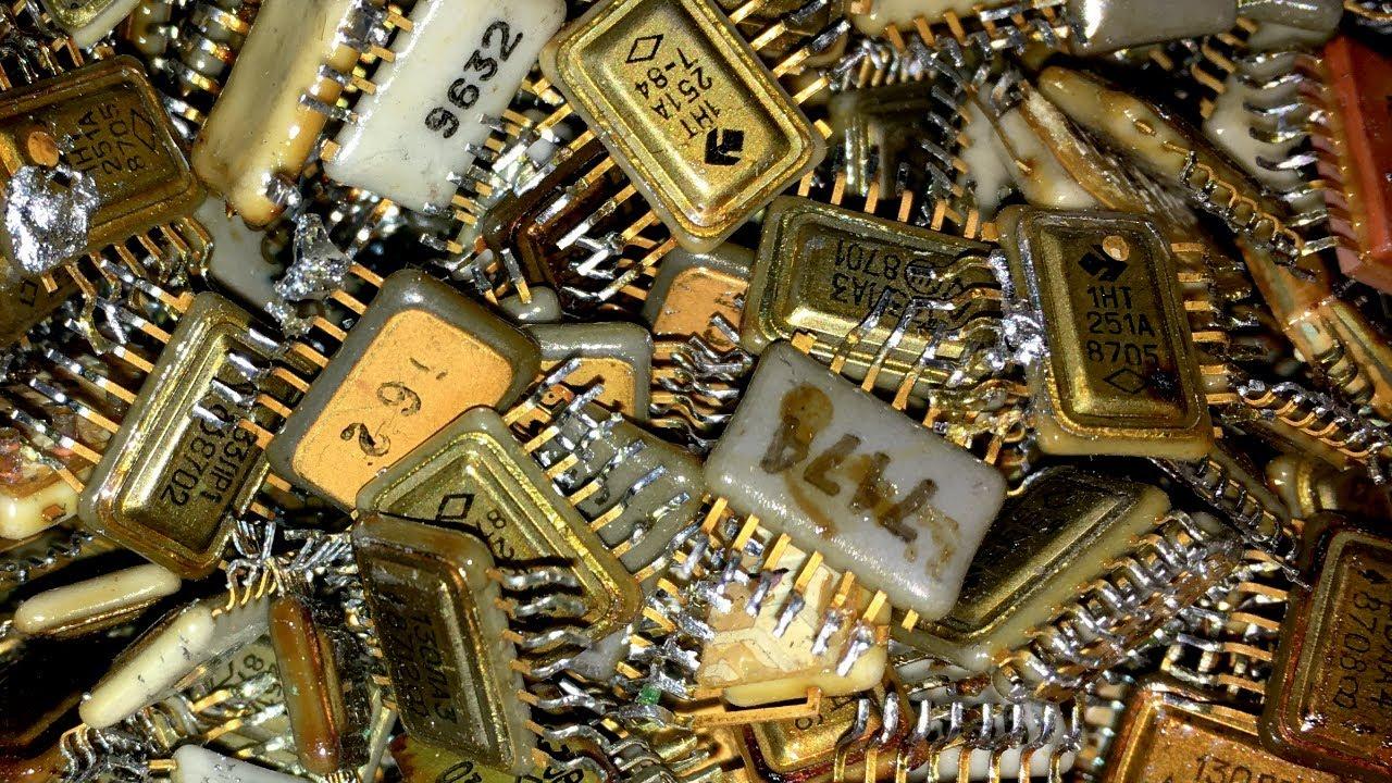 Download Smelting 10kg high grade GOLD scrap