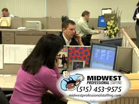 Midwest Professional Staffing Commercial 2010