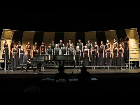2017-03-09 NBHS Advanced Chorus at 2017 Hudson County Teen A