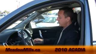 Addison Meadow Mills Buick GMC - 2010 GMC Acadia in Mississauga West
