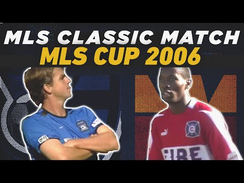 San Jose Earthquakes Vs Chicago Fire FC   MLS Cup 2003   MLS FULL CLASSIC MATCH