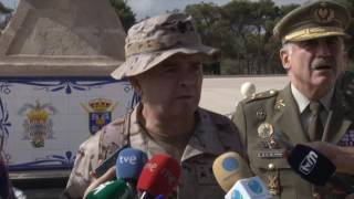 La Comgemel despide a los más de 200 militares que parten a Irak