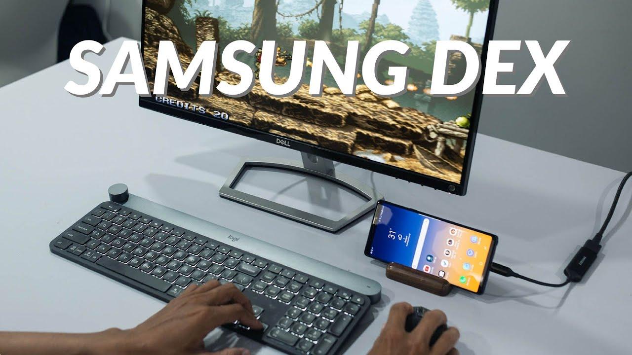 Samsung DeX – cắm cáp trực tiếp là chạy không cần dùng dock!