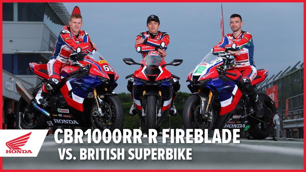 CBR1000RR-R Fireblade Vs. British Superbike