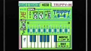 making a beat on gameboy dj