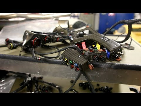 Formula 1 (2016) Wiring Loom and $100000+ of Sensors