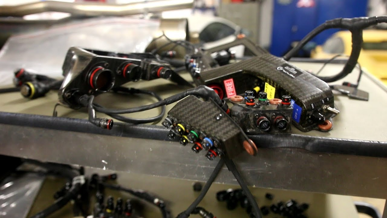 f1 wiring harness formula 1 wiring loom and  100000 of sensors youtube  formula 1 wiring loom and  100000 of