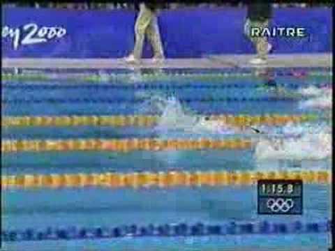 Sydney 2000: Massimiliano Rosolino ORO nei 200 misti