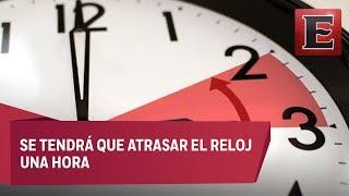 Horario de Verano en México concluye este domingo 28 de octubre