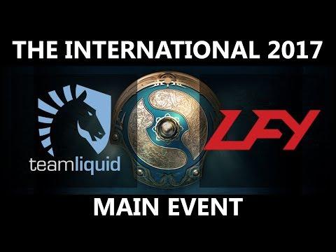 LFY vs Liquid - The International 2017 LB Finals - G1