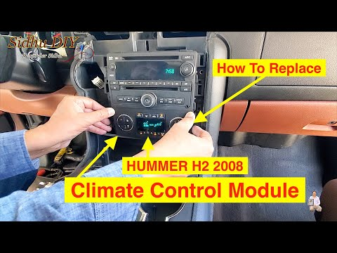 How To Replace HUMMER H2 Climate Control Module | HUMMER H2 2008
