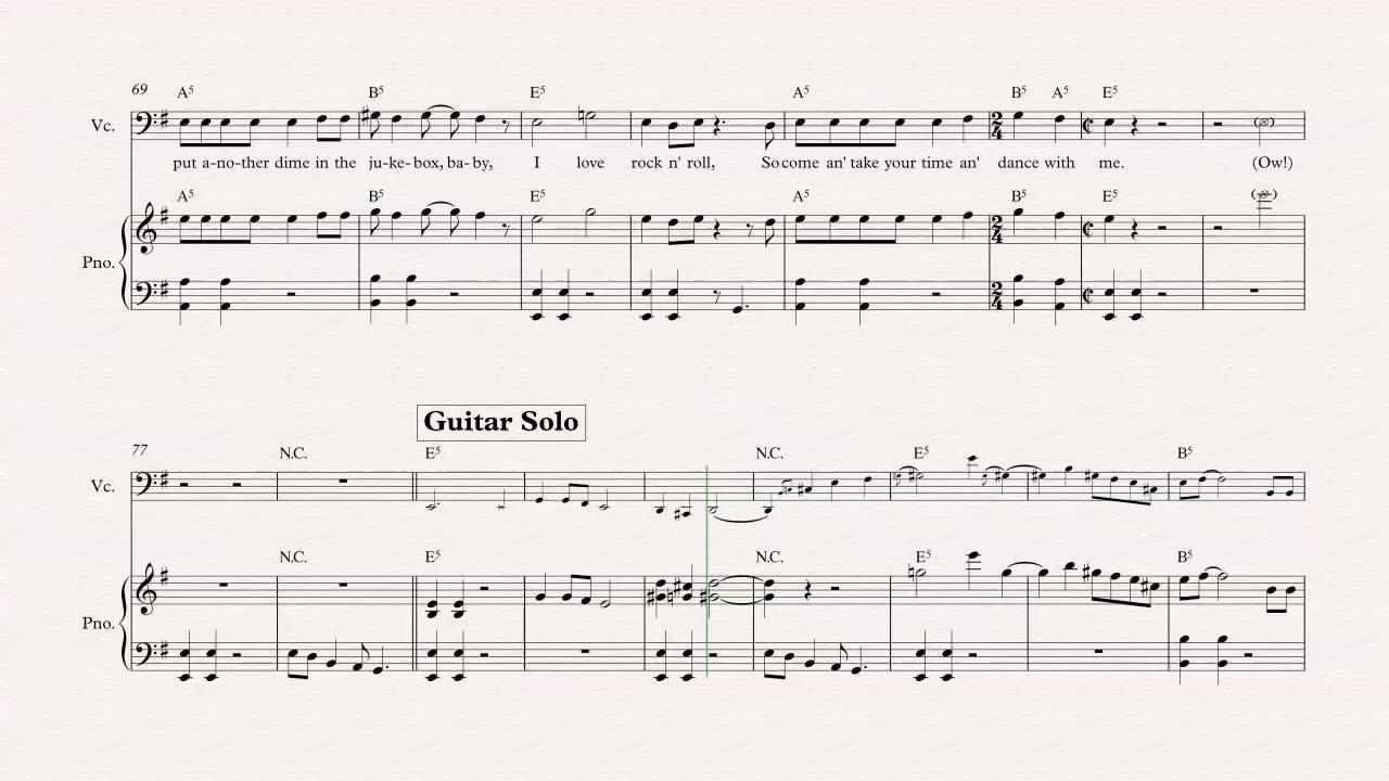 Cello i love rock n roll joan jett the blackhearts sheet cello i love rock n roll joan jett the blackhearts sheet music chords vocals hexwebz Gallery